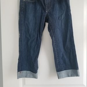 Ag Adriano Goldschmied Jeans - AG Adriano Goldschmied the liberty 27R capri jeans